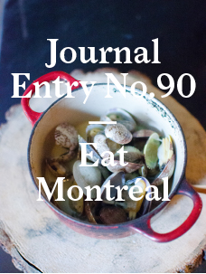 Eat a City: Montréal