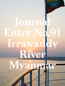 A Lazy Cruise Down the Shifting Irrawaddy