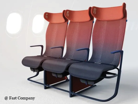 New Fabric could make Flying Less Terrible